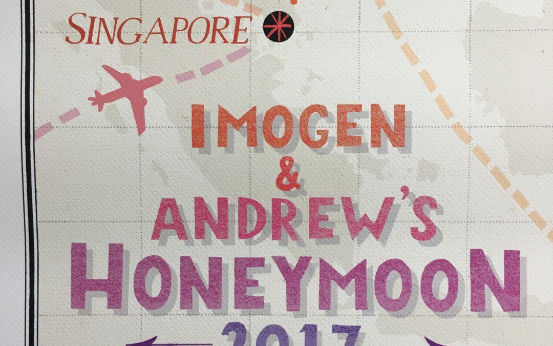 Honeymoon Adventures ~ Mapped!