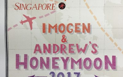 Honeymoon Adventures ~ Mapped!